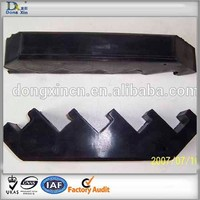 Molding recycled special rubber products for machinery