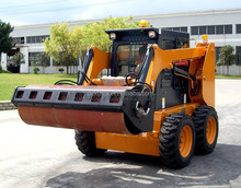 Low Price 65HP 0.5CBM Shovel Bucket Road Used Mini Skid Steer Loader Attachments Vibratory Roller