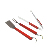 BBQ Grilling Tools 3-Piece Stainless-Steel Barbecue Set Grilling Kit for Barbecue Spatula Tongs Fork BBQ Tools set