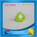 Hard plastic HF 13.56Mhz RFID tags writable NFC tag stickers printable NFC tag