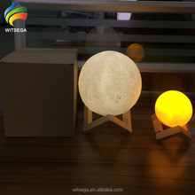 Low Price Moon Night Light Led 3D Print Moon Lamp As Christmas Gift