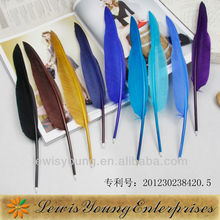 Logo imprint promotion goose feather ballpen