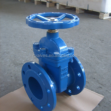 Cast Iron Rubber Wedge Gate Valve