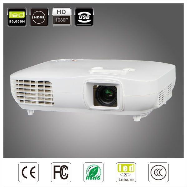 china factory direct sale lunga durata della lampada proiettore,nativo 1920x1080 proiettore multimedia led proyector projector