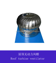Stainless steel roof mushroom ventilator no power roof ventilation fan