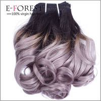 Dark Root Colored Ombre Two Tone Body Wave Hair Weaving Weft Extension Unprocessed Virgin Indian Human Hair Weave In Stock