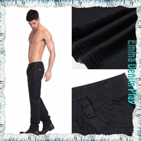 New Style Men Fashionable Denim Jeans Bulk Wholesale Cheap Price with Leather Label