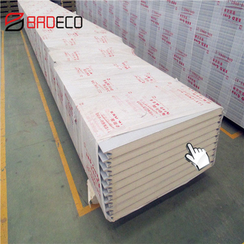 Polyurethane PU/PUR/PIR/FM Approved Sandwich Panels for Roof/Wall/Clean room