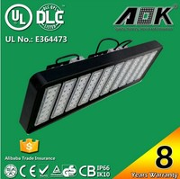 LED Flood Light 400W High Mast Lamp Sport Tennis Court LED Outdoor Light Wall Park Industrial High Bay Lighting DLC UL Listed