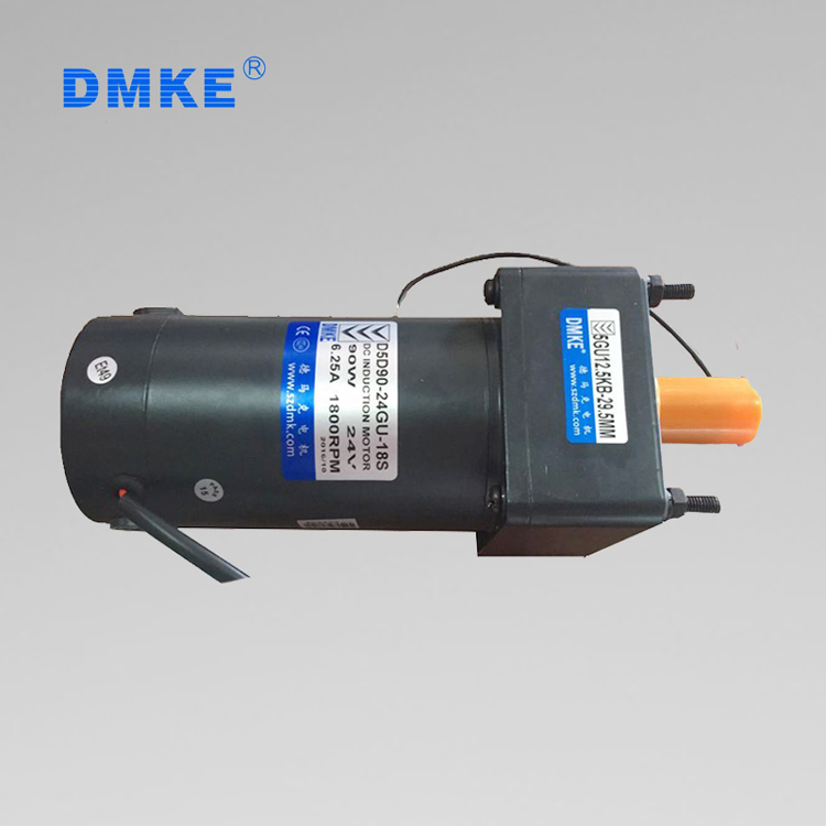 DMKE 6v/12v/24v volt 100/350 watt dc brushless gear motor 50kg-cm specification for electric animal car/walking animals cars