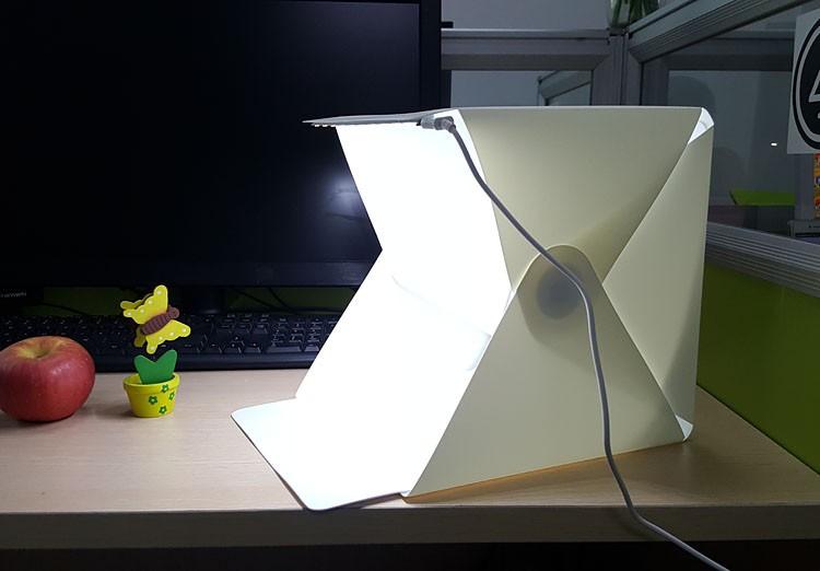 Portable Photography Studio Light Tent Photo Shooting Box Foldable with LED Light & Portable Photography Studio Light Tent Photo Shooting Box Foldable ...