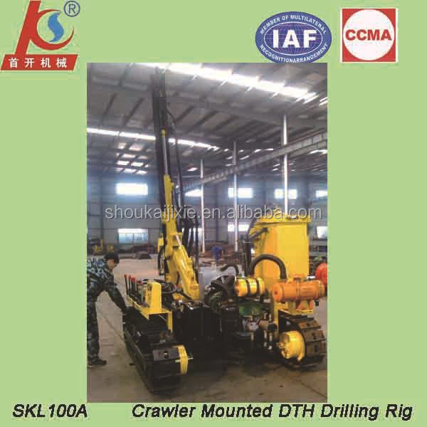 SKL100A crawler down the hole hammer drill rig for sale