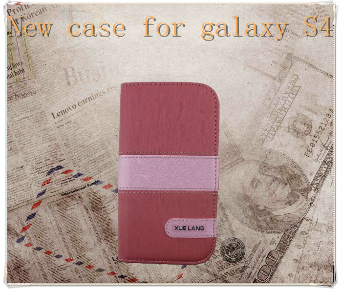 For samsung galaxy note s4/i9500 pc+pu case /case galaxy s4