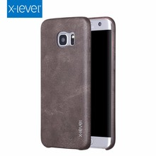 Xlevel Top Selling Leather Cellphone Case For Samsung Galaxy S7 Edge Leather Case