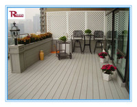 wpc decking board/wpc solid decking floor RH01F