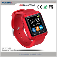 New Arrival Touch Screen China Smart Watch Phone Hot Wholesale With Pedometer Waterproof Bluetooth U80