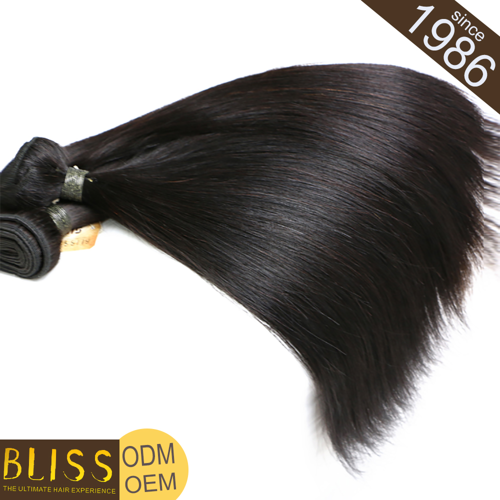 Unique Style 100% Natural Human Hair Curls Course Italian Yaki Straight Hair Extension