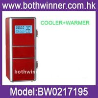 Wholesale USB Cooler and Warmer, USB Gadget ,Mini USB Fridge with LCD Display Function (calendar, time and tempreture display)