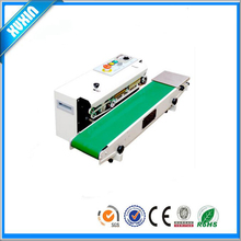 Automatic Horizontal Continuous Plastic Bag Band Sealing Sealer Machine FR770
