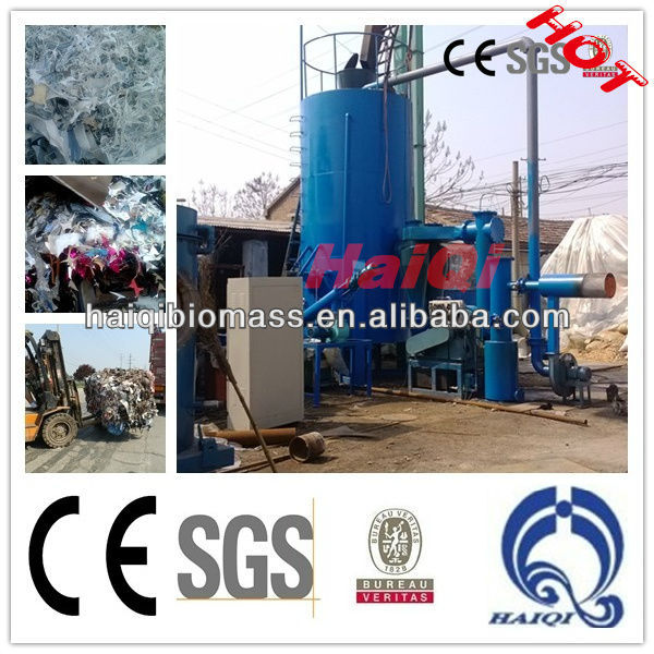 Plastic Waste gasifier for generate electricity