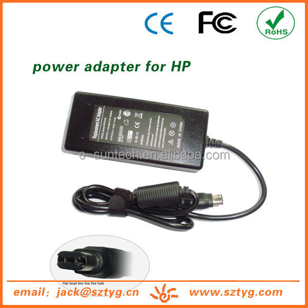 Wholesale18.5V 4.9A 90W AC Adapter/Power Supply for HP Compaq Business Notebook NC Series with UL/cUL,GS,CE,BS