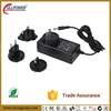 UL FCC CE RCM certification 5V 5A interchangeable plug power adapter
