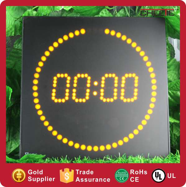 Online Shopping Decor Home Wooden LED Modern Accurate Round Wall Clock