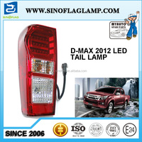 HOT SALE FOR ISUZU RODEO D-MAX LED TAIL LIGHT 2012 2013 2014 2WD 4WD PICKUP