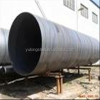 Oil and Gas large diameter carbon welded steel spiral tube/SSAW tube