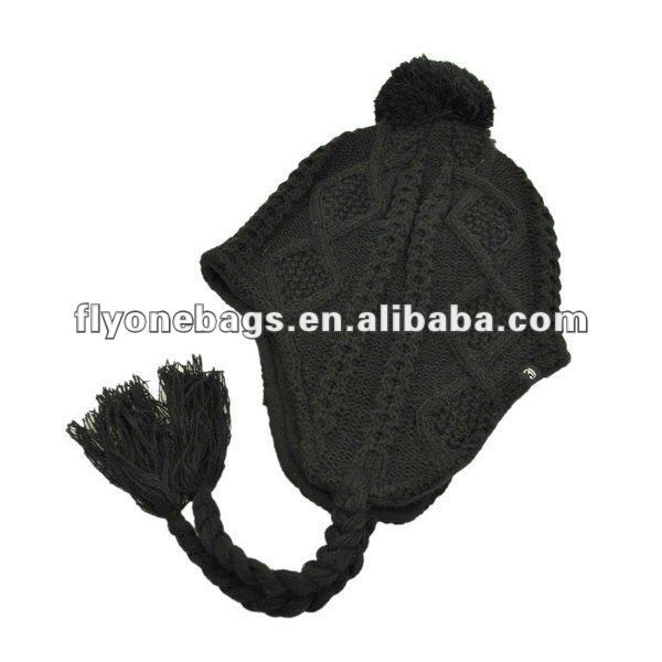 Knit peruvian hat