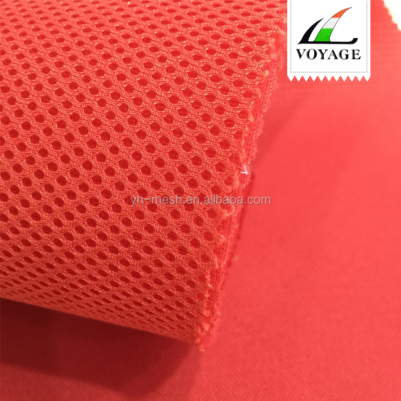 Shrink-Resistant 100 polyester tricot mesh fabric