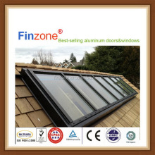 Design cheap commercial top hinged glass roof window