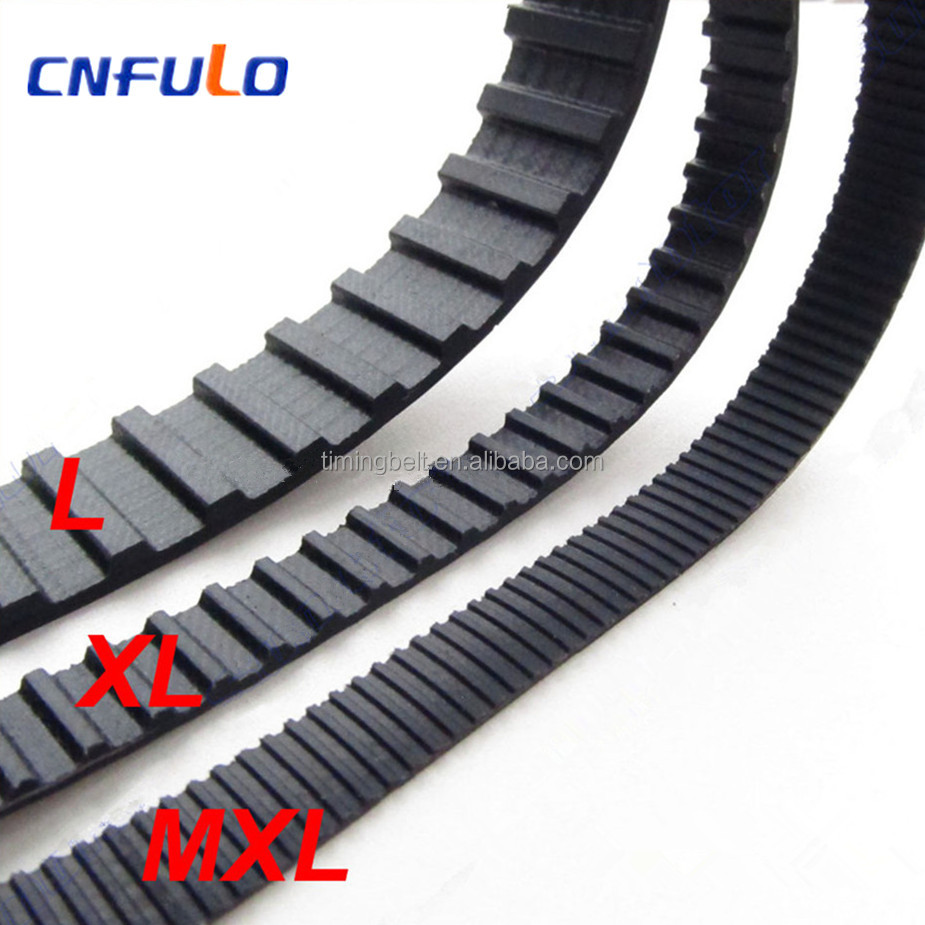 L XL MXL pitch 0.2 inch Synchronous rubber Timing belt