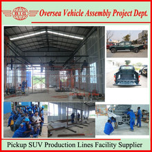 Best Small Pickup Trucks Manufacturing Plant Building Service For Your Country