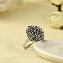 RI00061 Yiwu WT new retro personality silver simple and stylish hedgehog jewelry animal diamond ring