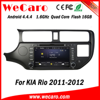 Wecaro WC-KU8047 Android 4.4.4 car stereo 2 din for kia rio car radio stereo mirror link 2011 2012