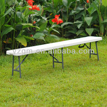 Relaxing HDPE 185cm plastic folding bench blow mold