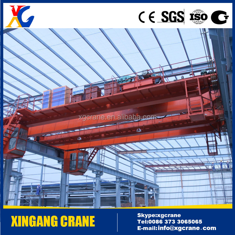 Hot Sale Workshop Overhead Travelling Crane Price 5 ton, 10 ton, 20 ton from China XG Factory