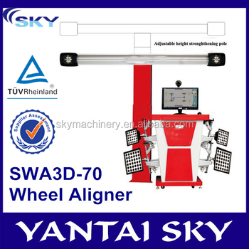 China Supplier Swa3d-70 3d Wheel Aligner/wheel Alignment Equipment ...