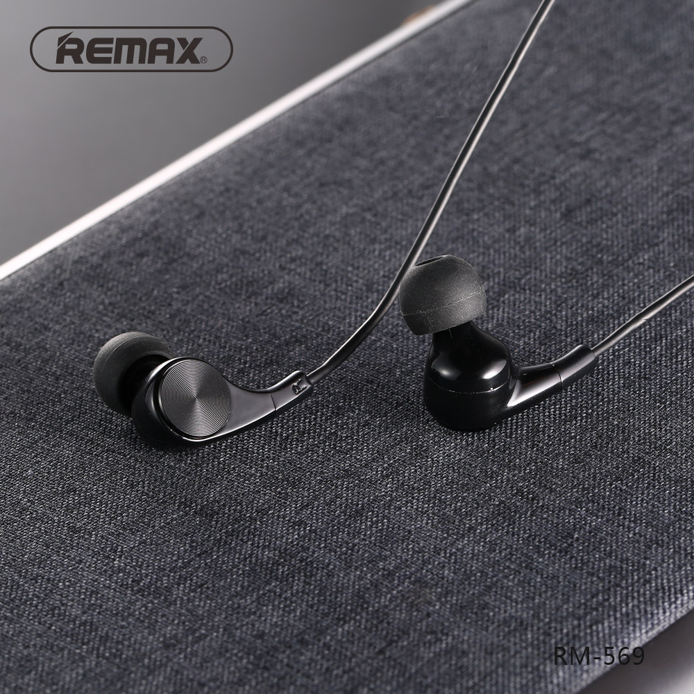 REMAX Stereo HiFi Wired Earphone Headphone
