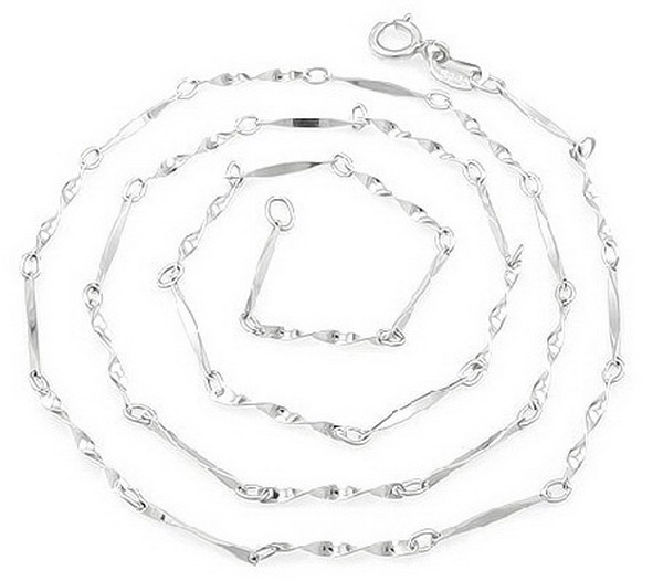 Design new arrival link 925 sterling silver Chain for necklace