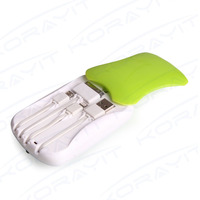 5000mAh ABS Power Bank Charger with Charging Cable