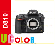 Genuine New Nikon D810 36.3 MP Digital SLR Camera Body - Black Multi-language