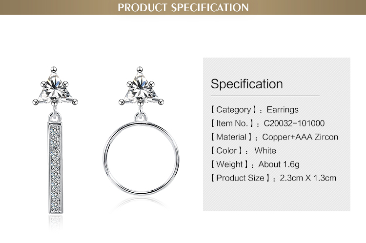 Superior quality brazilian special beautiful unique big round earring designs for women