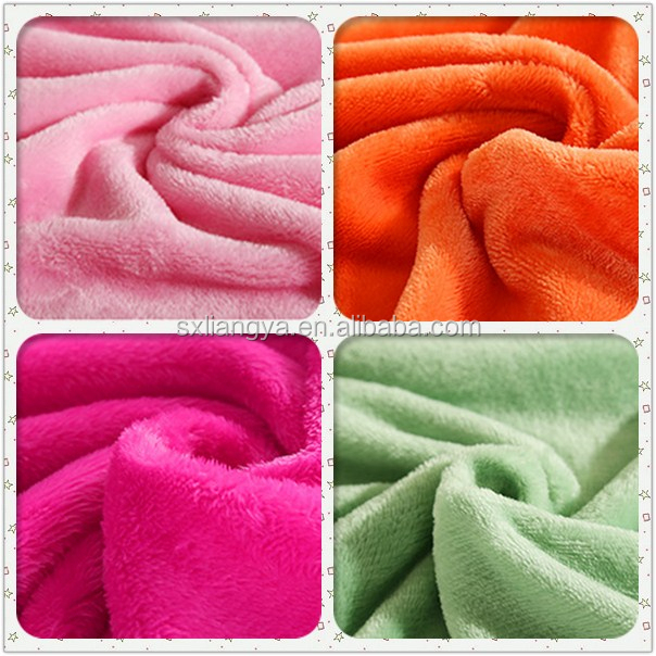 Top 10 textile coral fleece fabric fot blanket knitted fabric
