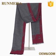 Oem Sercive Acceptable Custom Wholesale Fashion Print Scarf Men