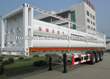 brand New Tri-axle CNG LPG Semi Trailer