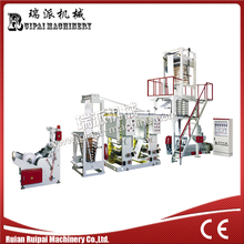 Plastic Film Blowing Extruder Gravure Printing Connect Line Set Machine