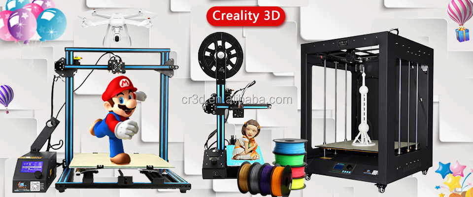 2017 CR-5060 Industrial 3D printing machine high accurecy Larger size 3d printer modeling 3d printer 3d home architect design