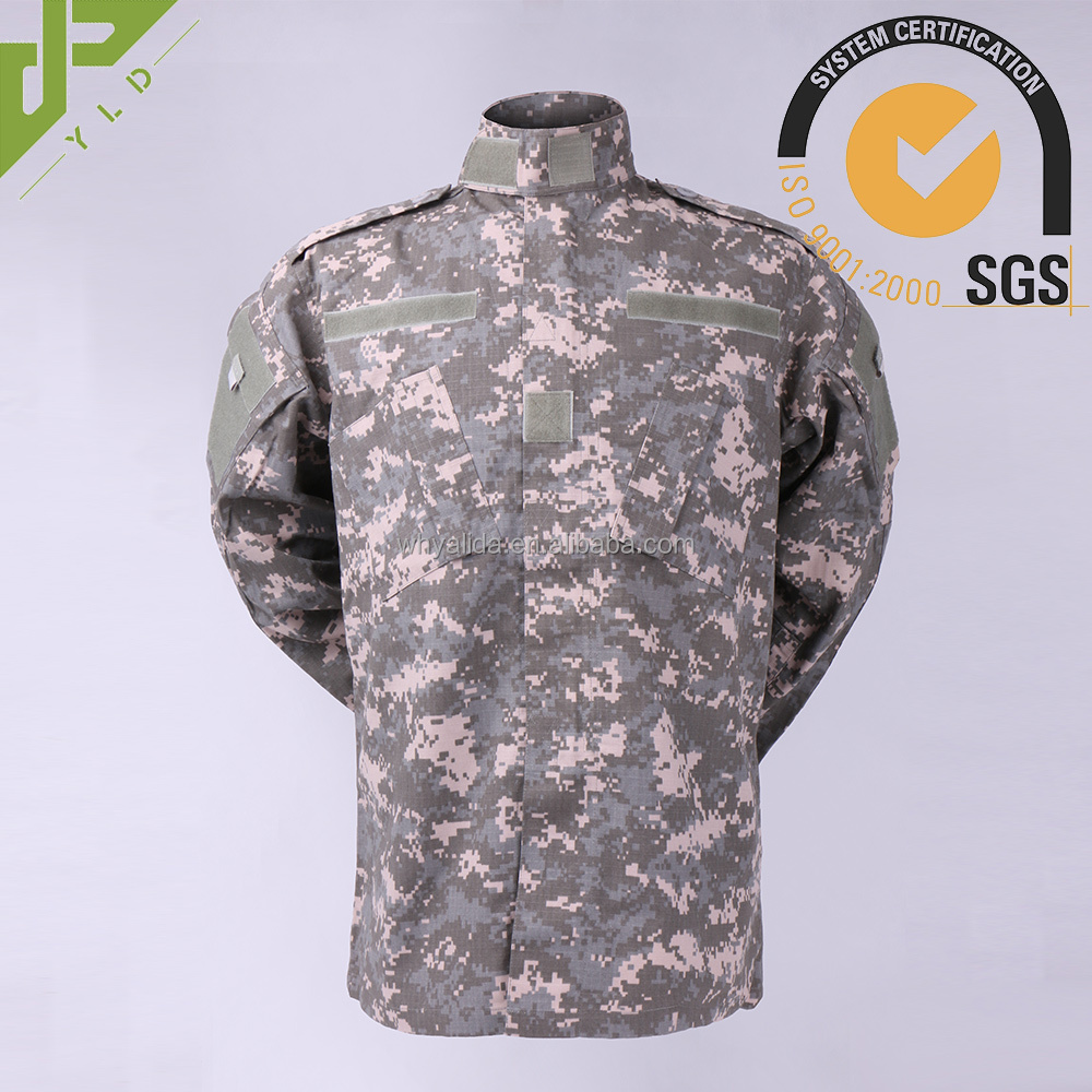 factory uniform universal acu camouflage military clothes